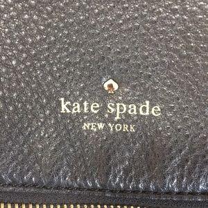 kate spade Bags - Black Fold Over Kate Spade Shoulder Bag